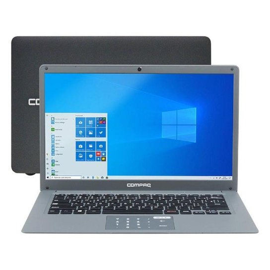 Notebook Compaq Presario CQ-25 Intel Pentium 4GB  SSD de 120GB - Cinza