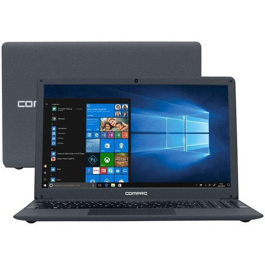 Notebook Compaq Presario CQ-29 Intel Core i5  SSD de 480GB - Cinza