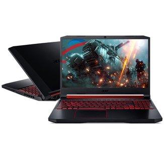 Notebook Gamer Acer AN515 - Tela 15.6 Full HD 144Hz, Ryzen 7, 32GB, SSD 512GB, GeForce GTX 1650Ti