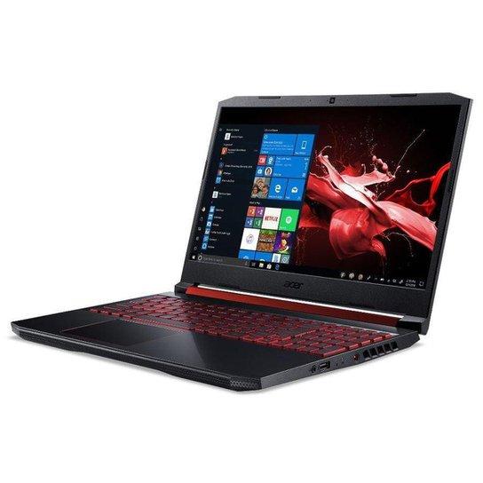 Notebook Gamer Acer Nitro 5 AN515-54-528V Intel Core i5 8GB 1TB HD 128GB SSD GTX 1650 15.6' Win 10 - Preto