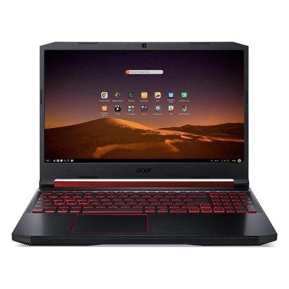 Notebook Gamer Acer Nitro 5 AN515-54-574Q Intel Core i5 8GB 512GB SSD GTX 1650 15.6' Endless