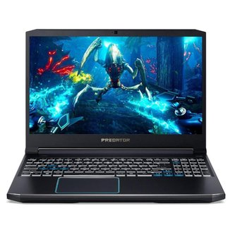 Notebook Gamer Acer Predator Helios 300 PH315-52-7210 RTX2060 144hz Ci7 16GB SSD 256GB HD 2TB Win10