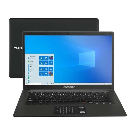 Notebook Multilaser Legacy Book PC310 - Preto
