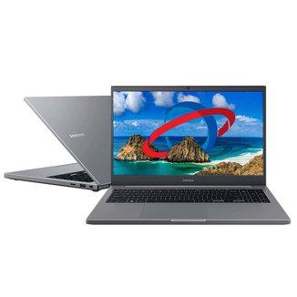 Notebook Samsung Book E35 - Full HD, Intel i3 1115G4, 4GB, HD 1TB, Windows 10 - NP550XDA-KT1BR