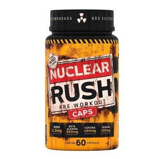 Nuclear Rush Caps Cafeína B Alanina Boro Taurina Coq-10 - Body Action