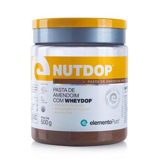 Nutdop (500g) Pasta de Amendoim - Elemento Puro -