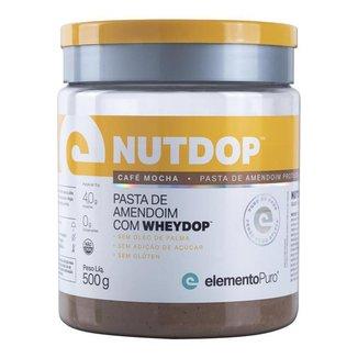 Nutdop Pasta de Amendoim Elemento Puro 500g - Café Mocha