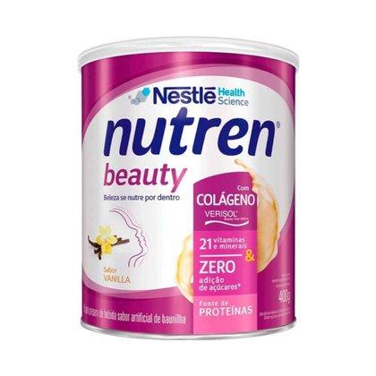 Nutren Beauty com Colágeno Verisol - 400 Gramas - Nestlé Baunilha