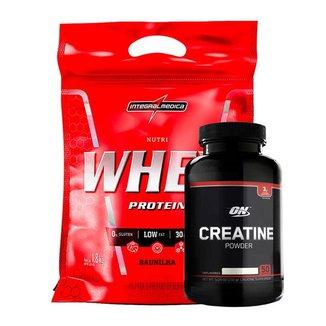 Nutri Whey Protein Pouch – 1,8kg Integralmedica - (Baunilha)