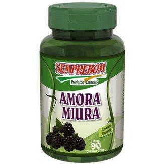 Nutricosmético Amora Miura - Semprebom - 90 cápsulas - 500 mg