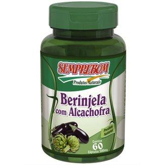 Nutricosmético Berinjela Com Alcachofra - Semprebom - 60 caps - 500 mg