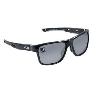 OAKLEY Óculos Oakley Crossrange Polido Espelhado Preto l Branco