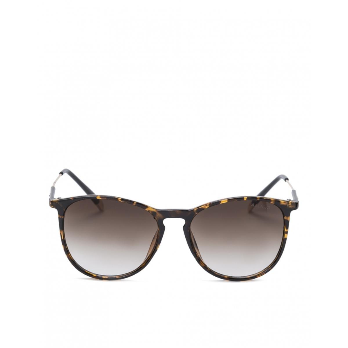 49f55b4cfcdb1 Óculos Amaro De Sol D Frame Classic Feminino - Marrom - Compre Agora ...
