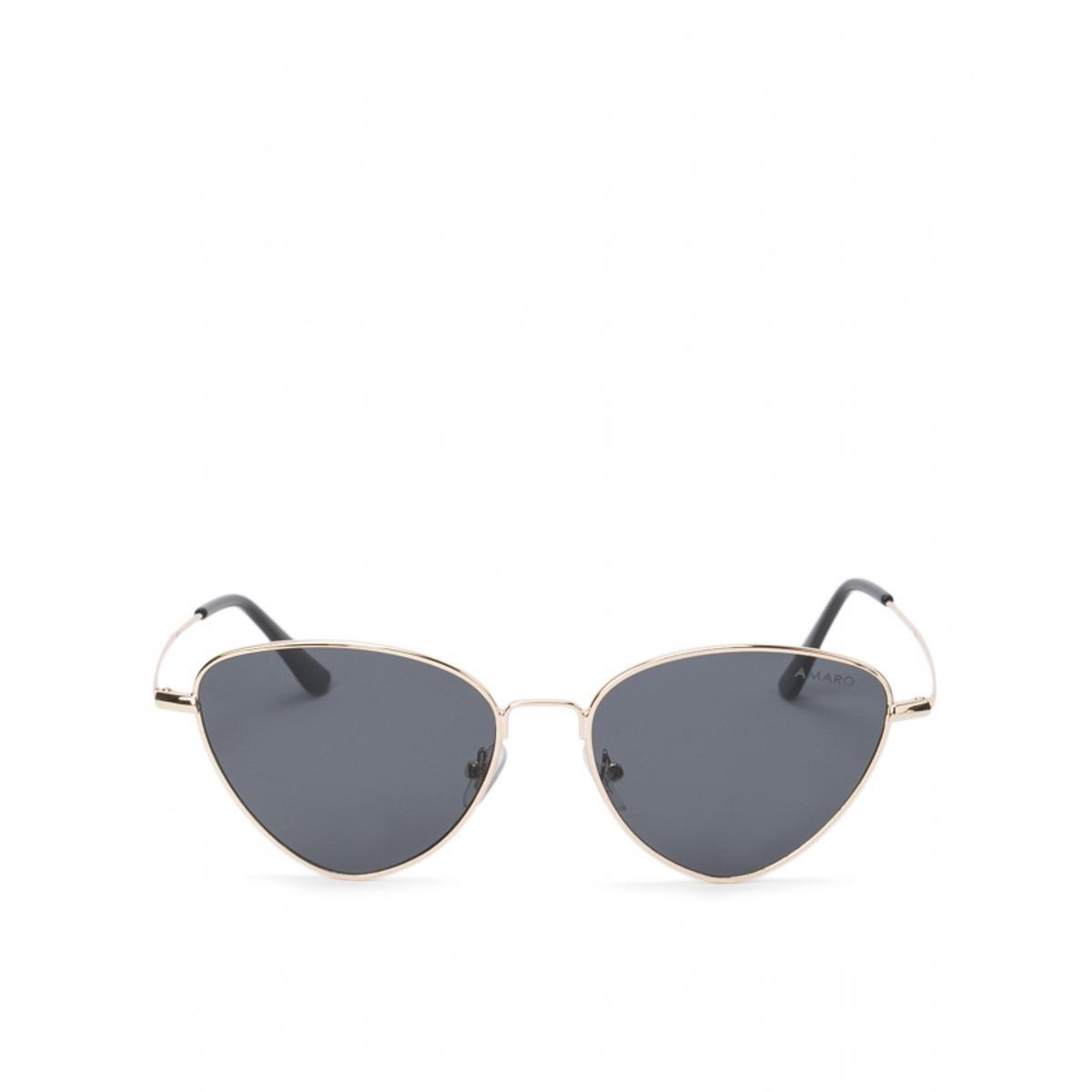 778a9a8927c6e Óculos Amaro De Sol Metal Gatinho Feminino - Preto - Compre Agora ...