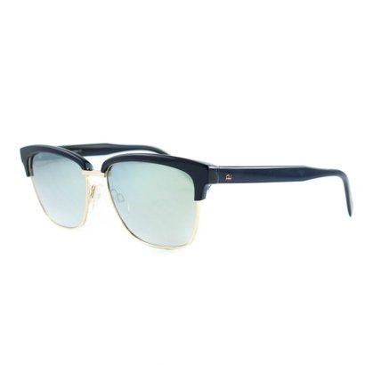 47763c7c6c219 Óculos Ana Hickmann De Sol Espelhado - Azul - Compre Agora   Netshoes
