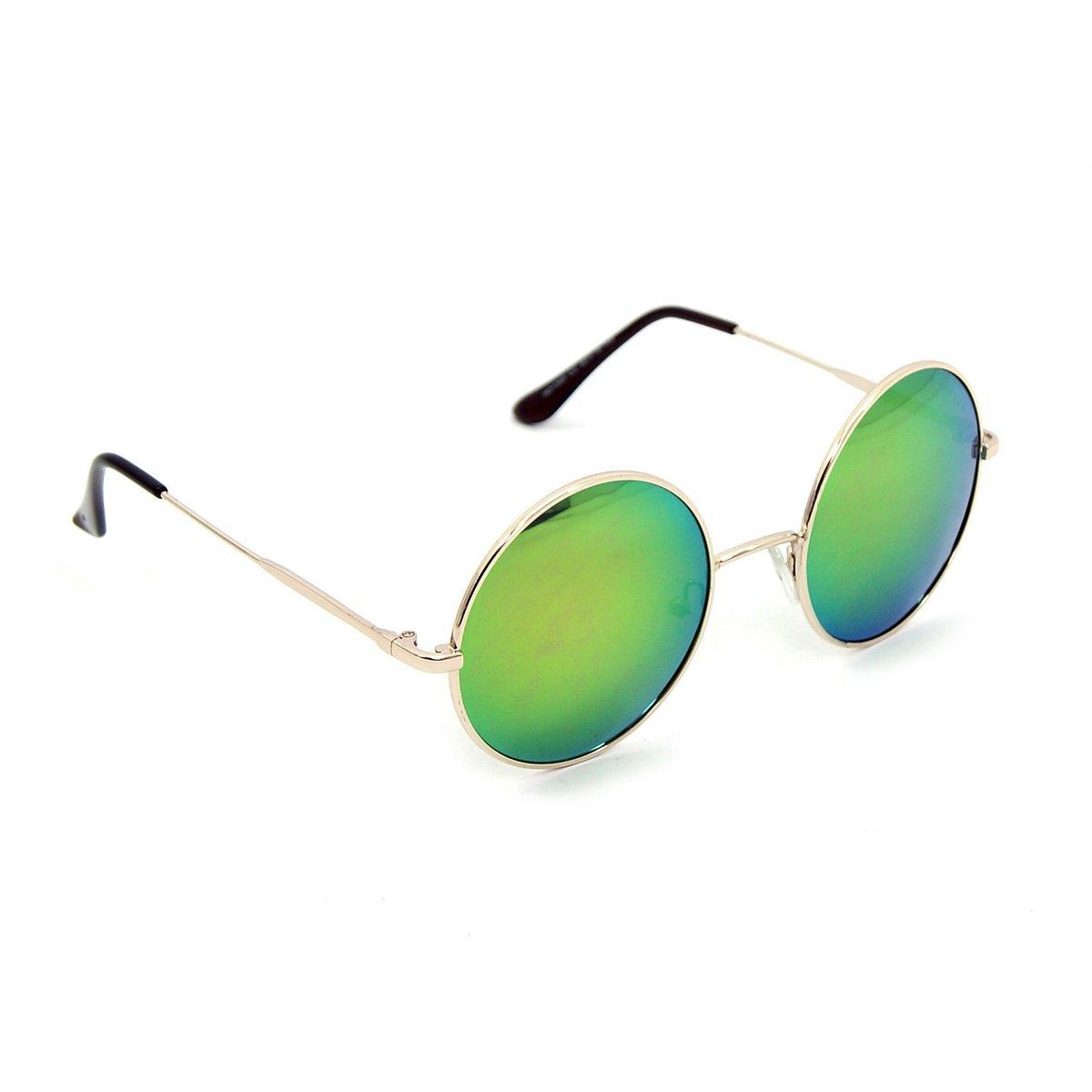 af53cc7cd5dfa Óculos Bijoulux de Sol Redondo Espelhado - Compre Agora