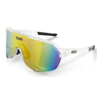 Óculos ciclismo Hupi Huez Cristal lente espelhada