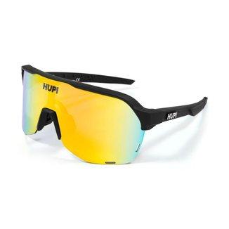Óculos Ciclismo Hupi Huez  preto lente  Espelhado