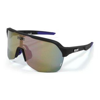 Óculos Ciclismo Hupi Preto e Roxo lente  Espelhado