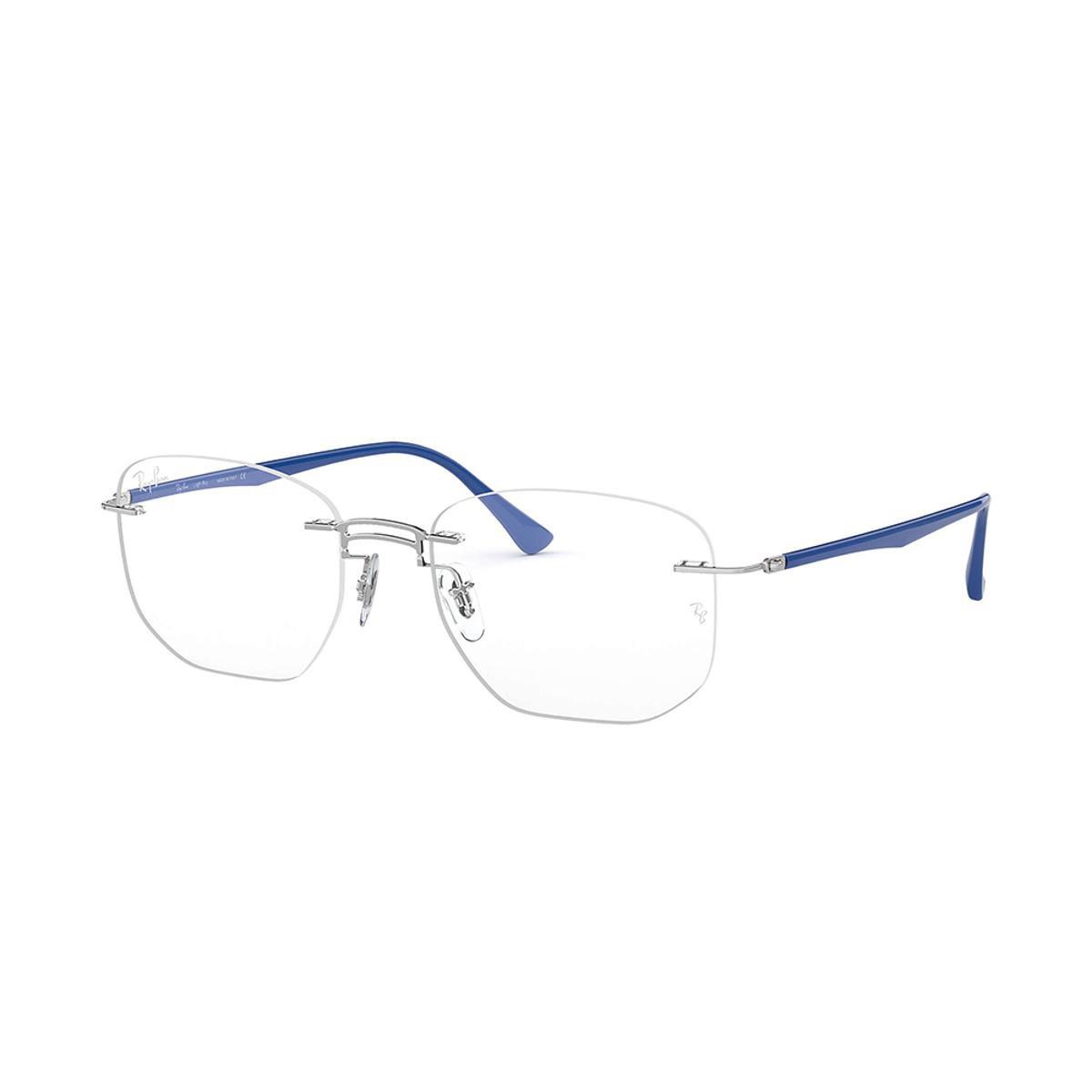 79aed9d342624 Óculos de Grau Ray-Ban RB8757 Masculino - Azul - Compre Agora