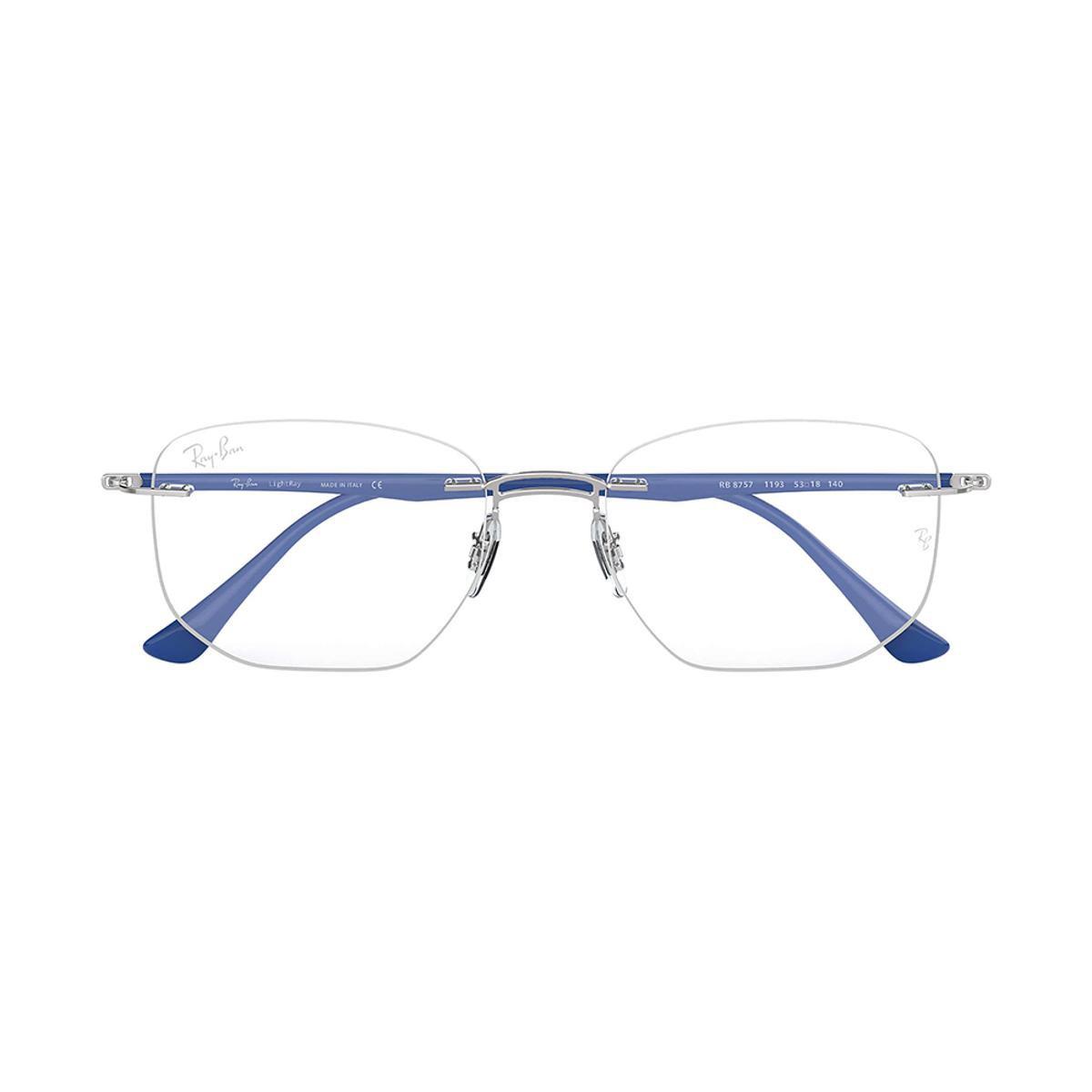 609e1dba5f4d9 Óculos de Grau Ray-Ban RB8757 Masculino - Azul - Compre Agora   Netshoes