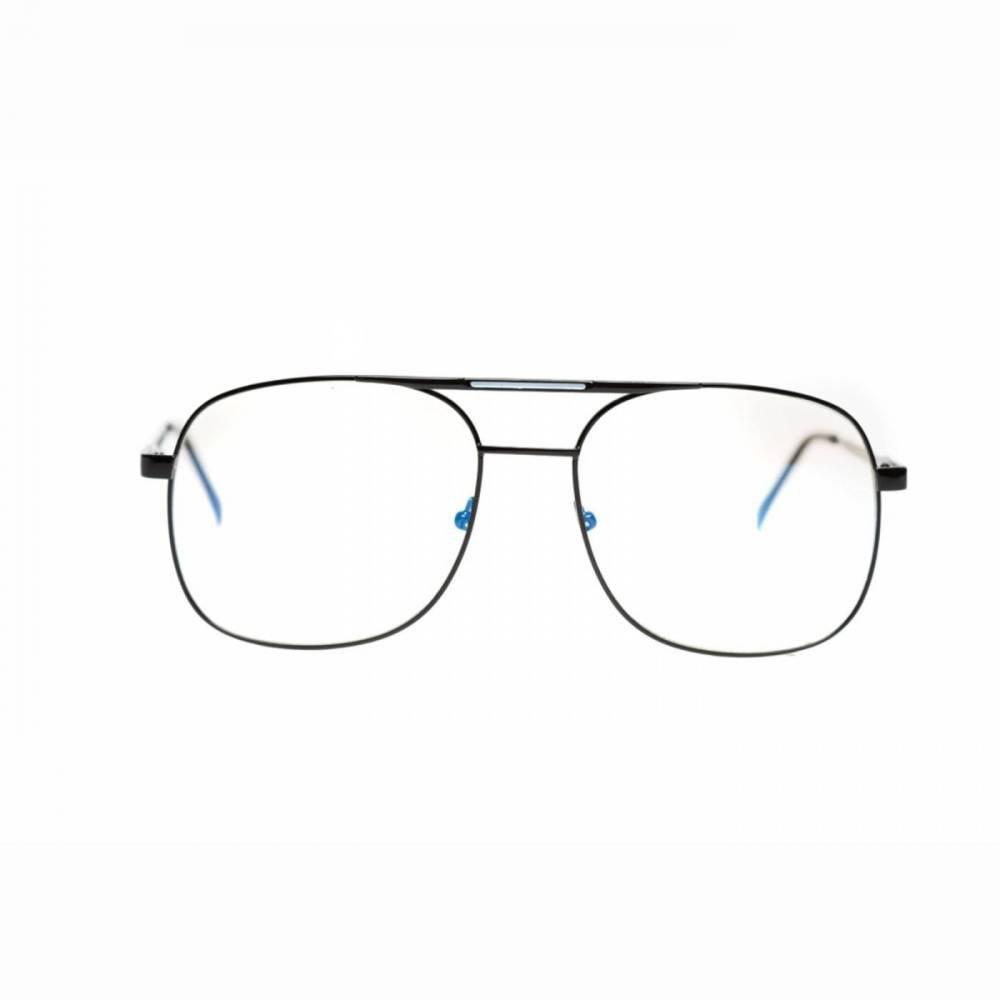 Óculos de Grau Thomaston Aviador Preto - Compre Agora   Netshoes 34ddc85ec6
