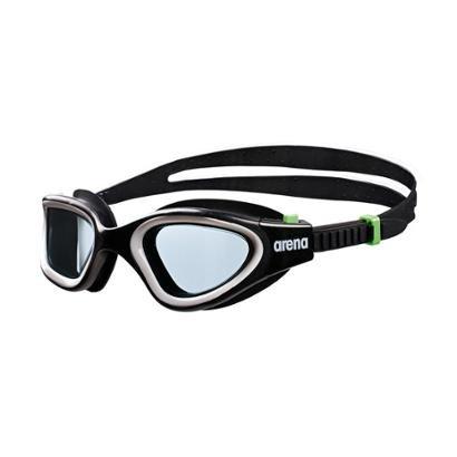 Óculos De Natação Arena Envision - Unissex - Branco+Preto