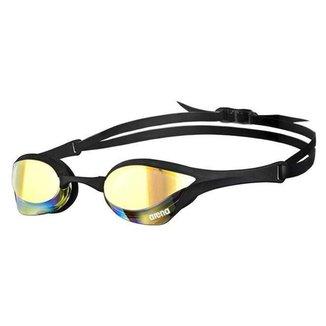 Óculos de Natação Cobra Ultra Mirror Arena Preto/Lente Cinza
