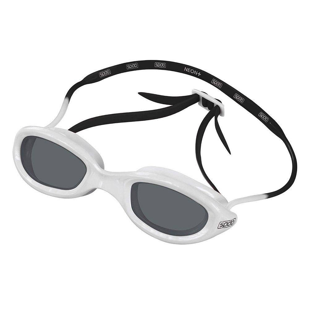 286e96dd4853b Oculos De Natacao Speedo Neon Plus 50918 - Branco e Preto - Compre Agora