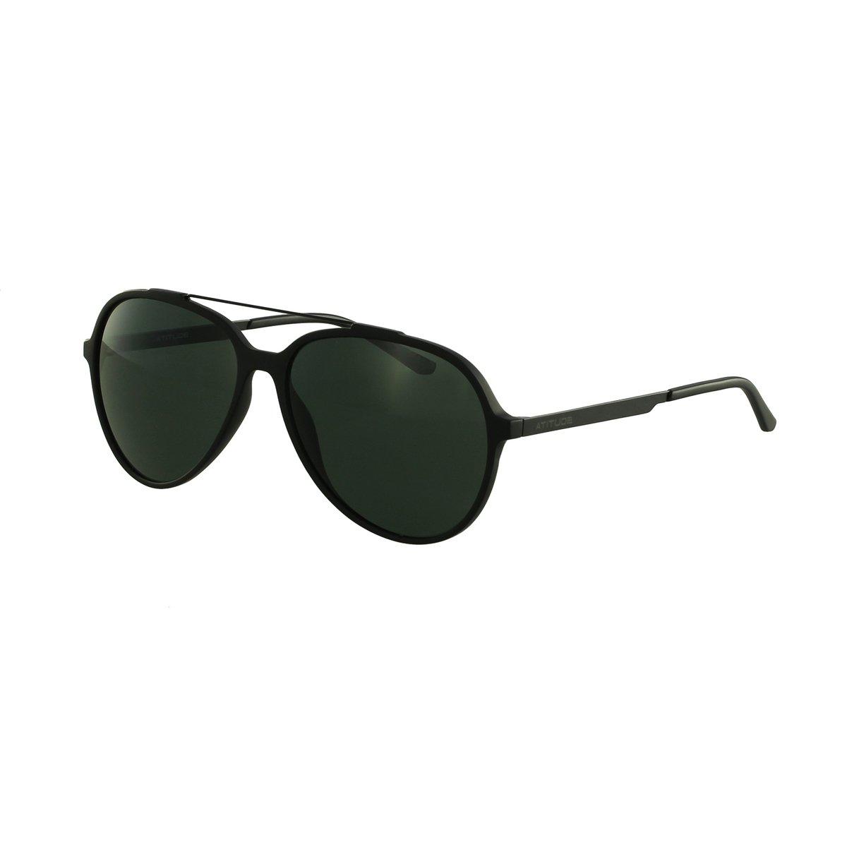 764f2b731f195 Óculos De Sol Atitude Aviador - Compre Agora