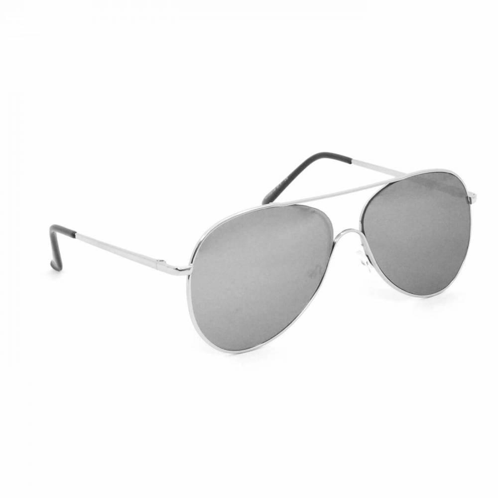 ea51344d8b1d7 Óculos de Sol Aviador - Prata - Compre Agora   Netshoes