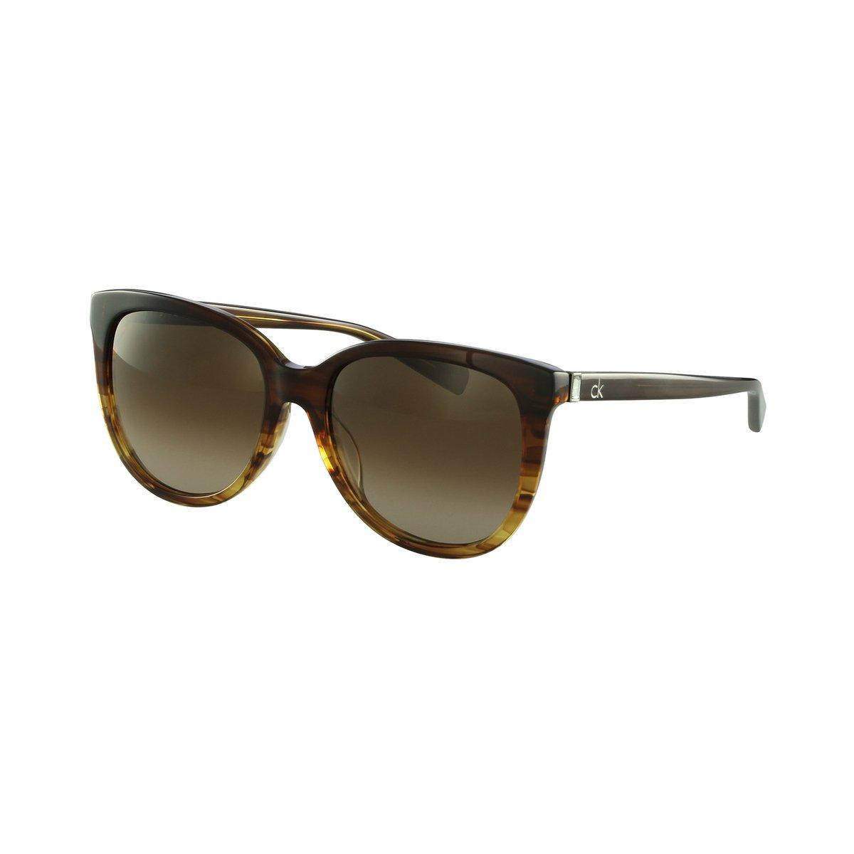 a932818f50109 Óculos de Sol Calvin Klein Casual Marrom - Compre Agora   Netshoes