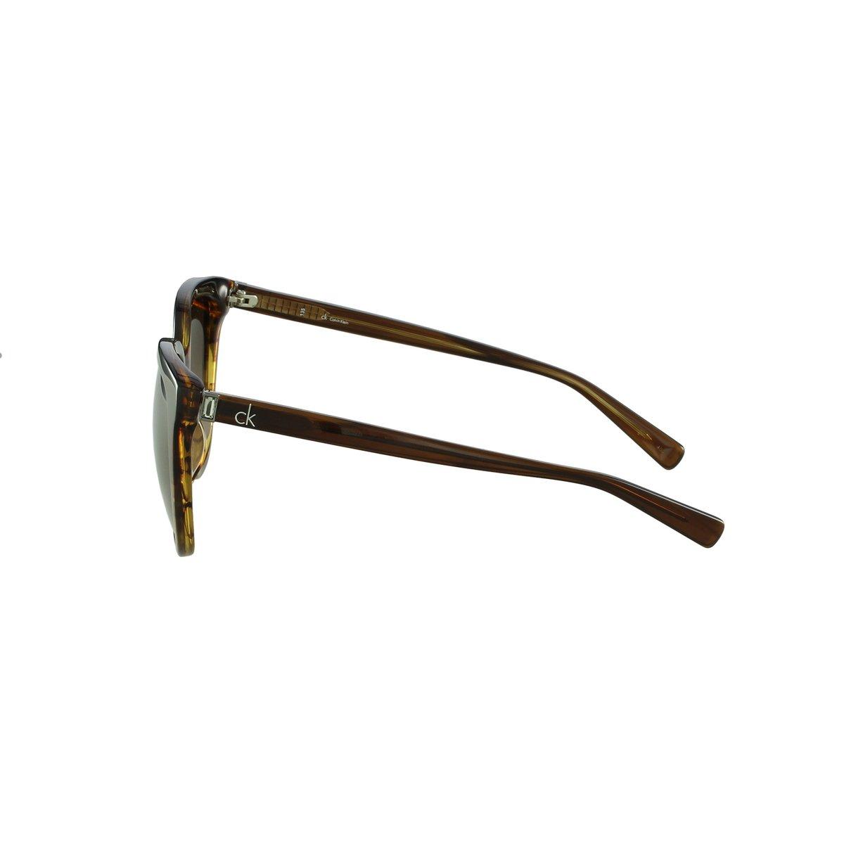 0548e9b80a2cb Óculos de Sol Calvin Klein Casual Marrom - Compre Agora   Netshoes