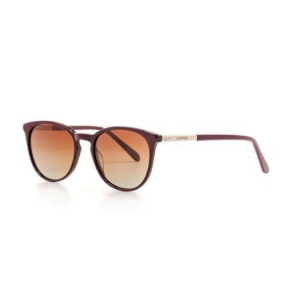50473b1ab Óculos de Sol Cannes Redonda Polarizado Proteção UV Feminino