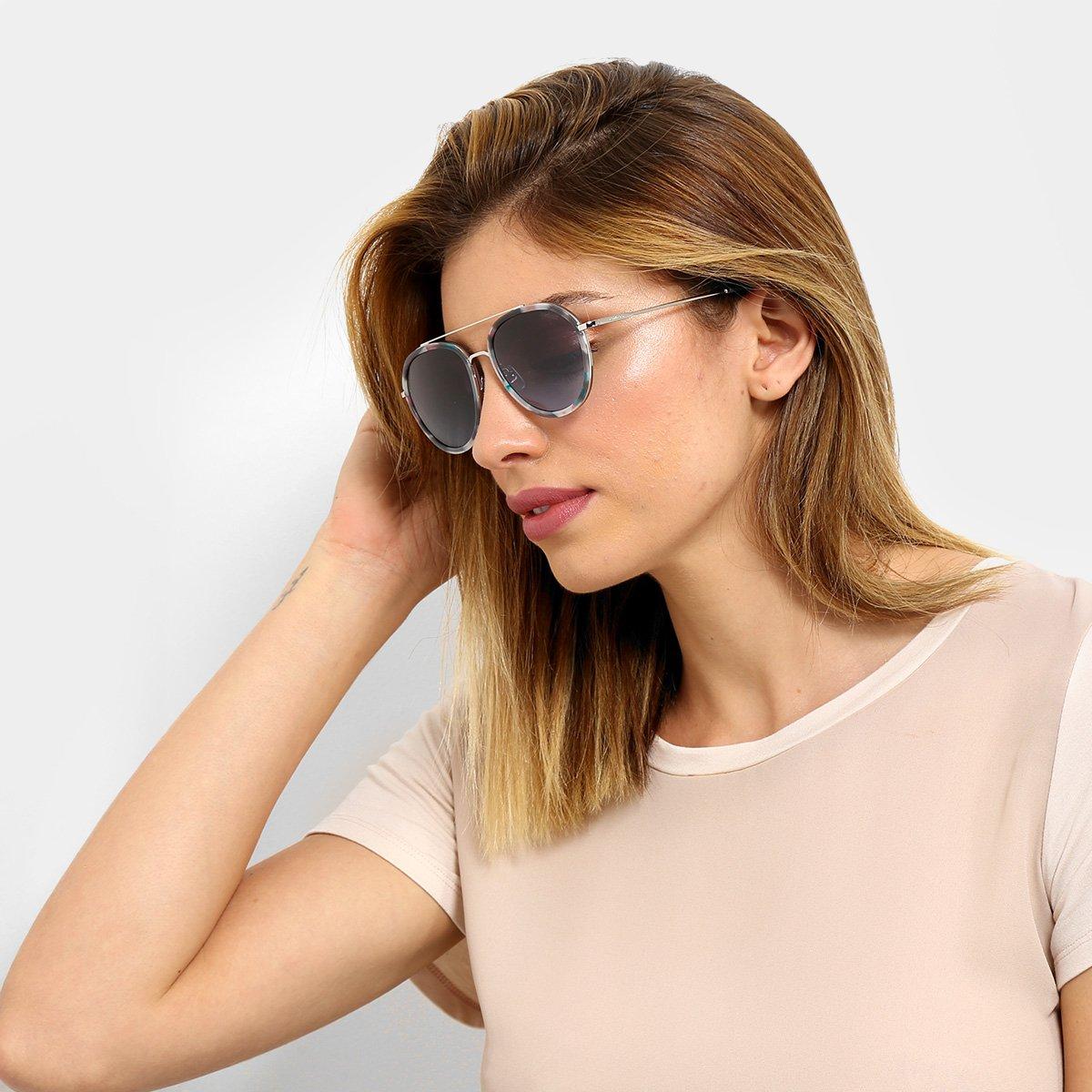 7cc03dbbf7a72 Óculos de Sol Colcci Demi Azul Feminino - Compre Agora   Netshoes