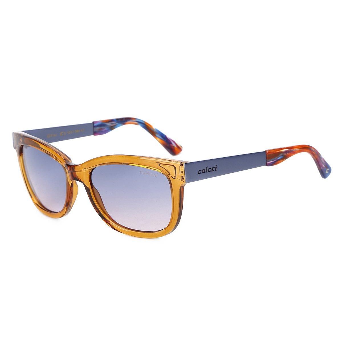 07b8f86a8 Óculos de Sol Colcci Flair 05037 Feminino - Azul | Netshoes