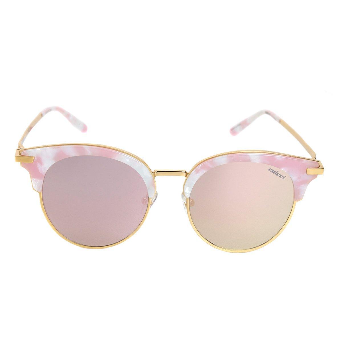 431a23003da77 Óculos de Sol Colcci Gatinho Brilho Feminino - Compre Agora   Netshoes