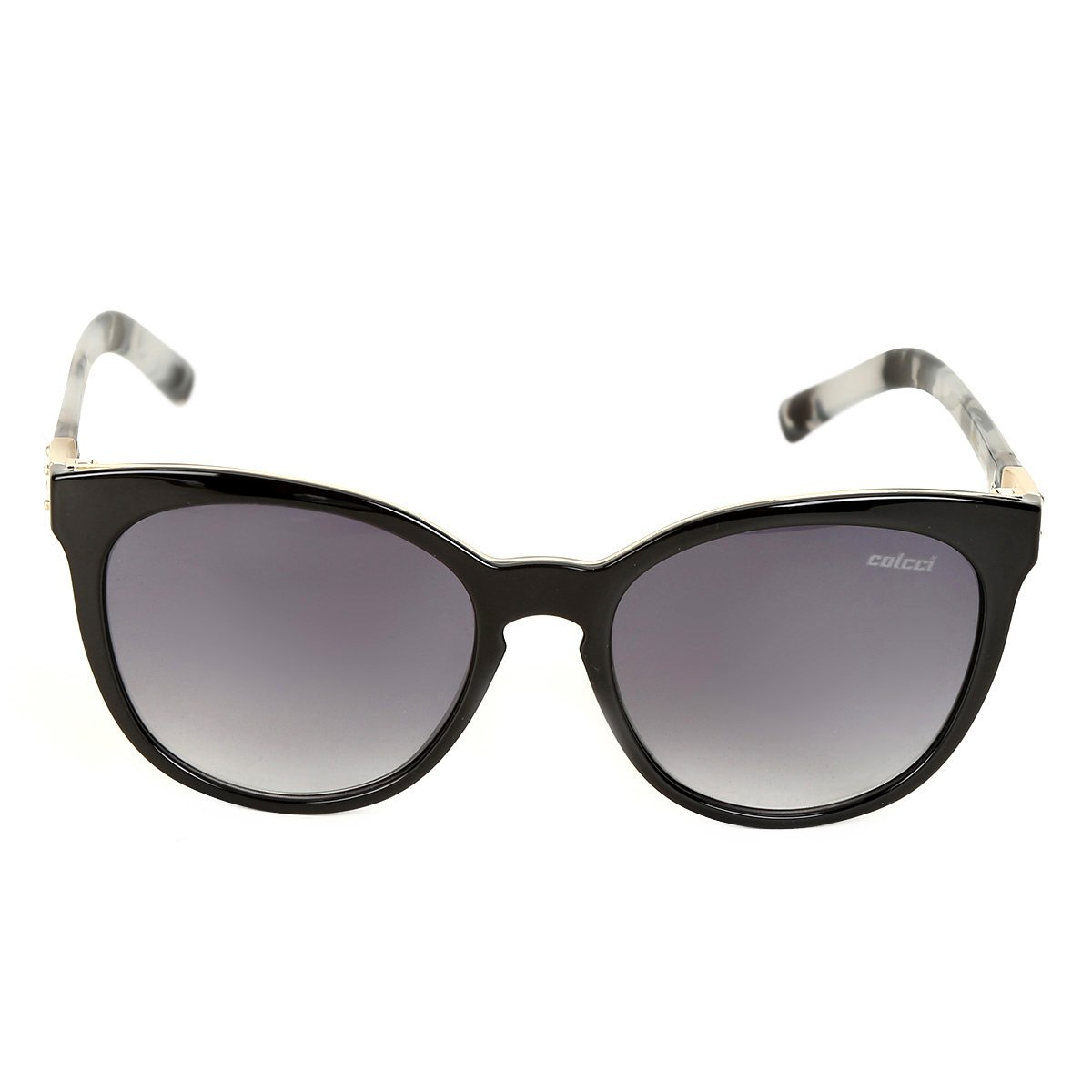 8a9c502b0d5ee ... Óculos de Sol Colcci Gatinho Nina Brilho Demi Leitoso Feminina ...