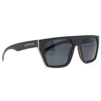 Óculos de Sol de Madeira Freijó Black