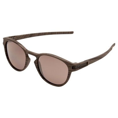 f0179094d815f Óculos de Sol de Sol Oakley Latch Masculino - Marrom e Cinza - Compre Agora