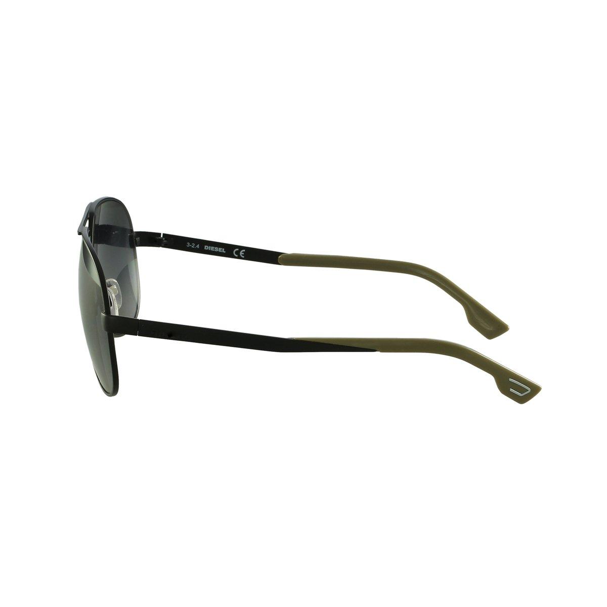 5c6b38c6b54b1 Óculos de Sol Diesel Aviador Preto - Compre Agora   Netshoes