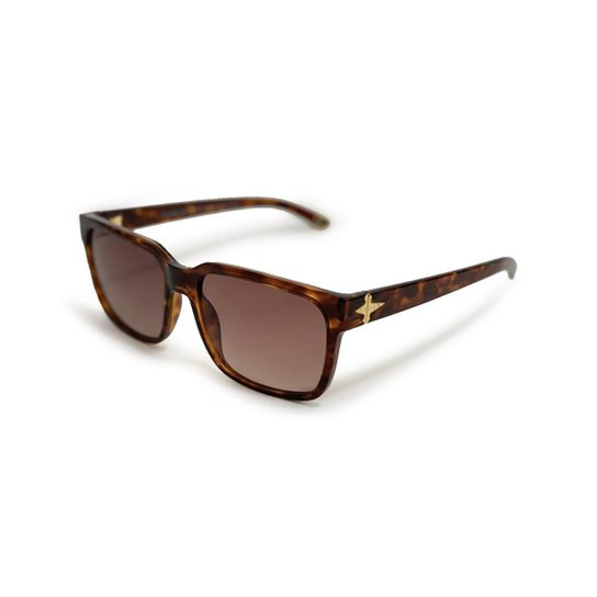 Óculos de Sol Evoke Capo VI D01 Turtle Masculino - Marrom