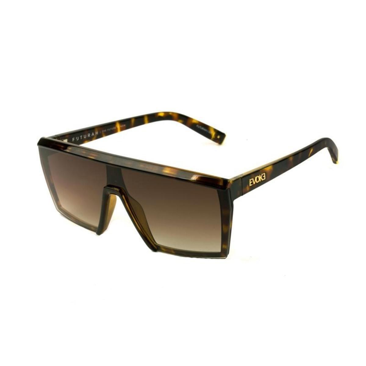 658139c02 Óculos de Sol Evoke Futurah G21 Turtle Shine Feminino - Marrom   Netshoes
