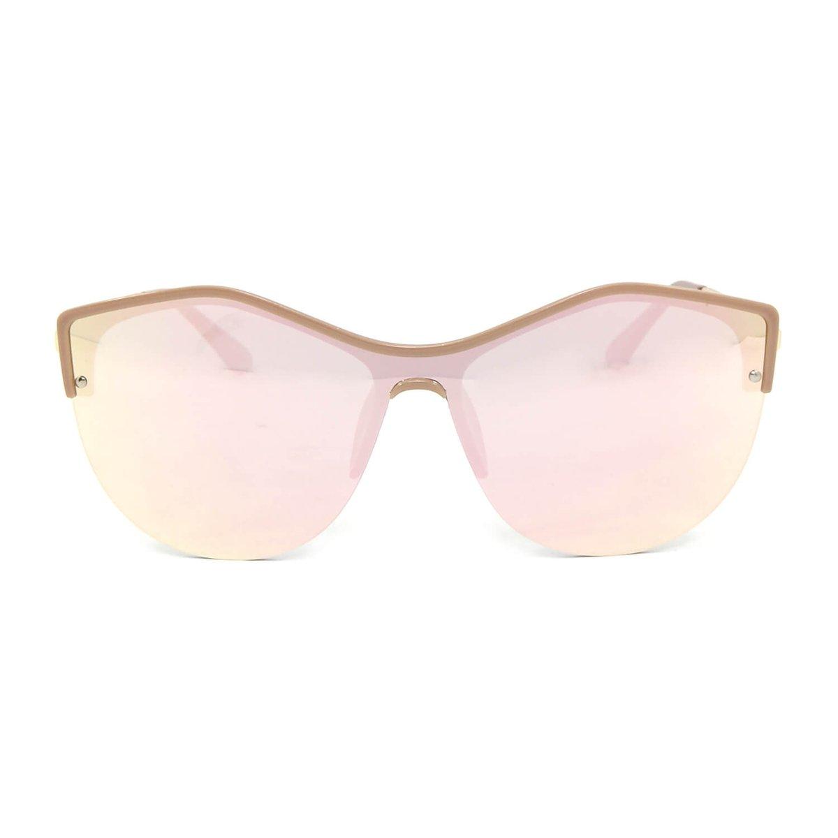 Óculos de Sol Flat Rosa Espelhado - Estampado - Compre Agora   Netshoes de549e462c