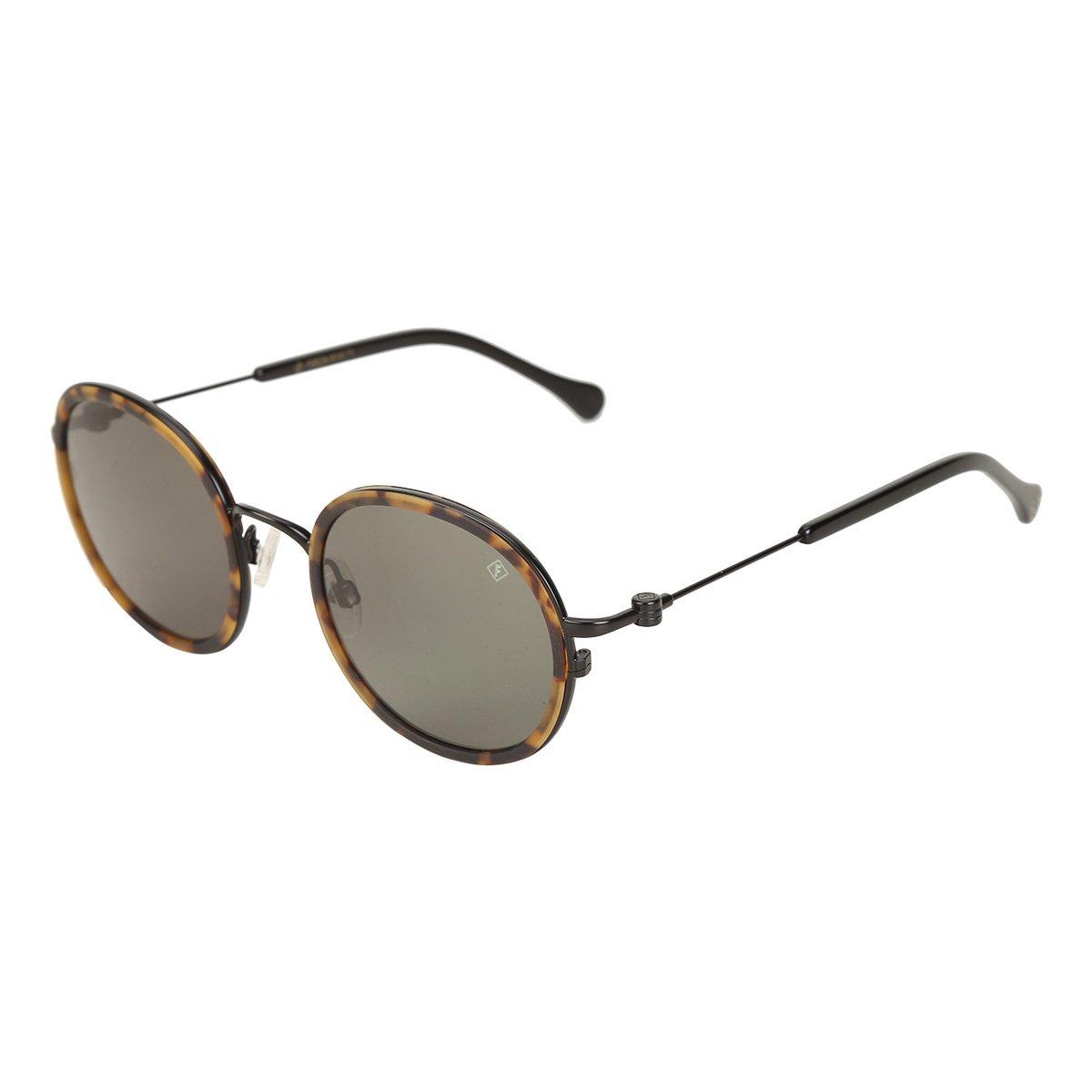 bf971a3f835cb Óculos de Sol Forum Preto Fosco Feminino - Compre Agora
