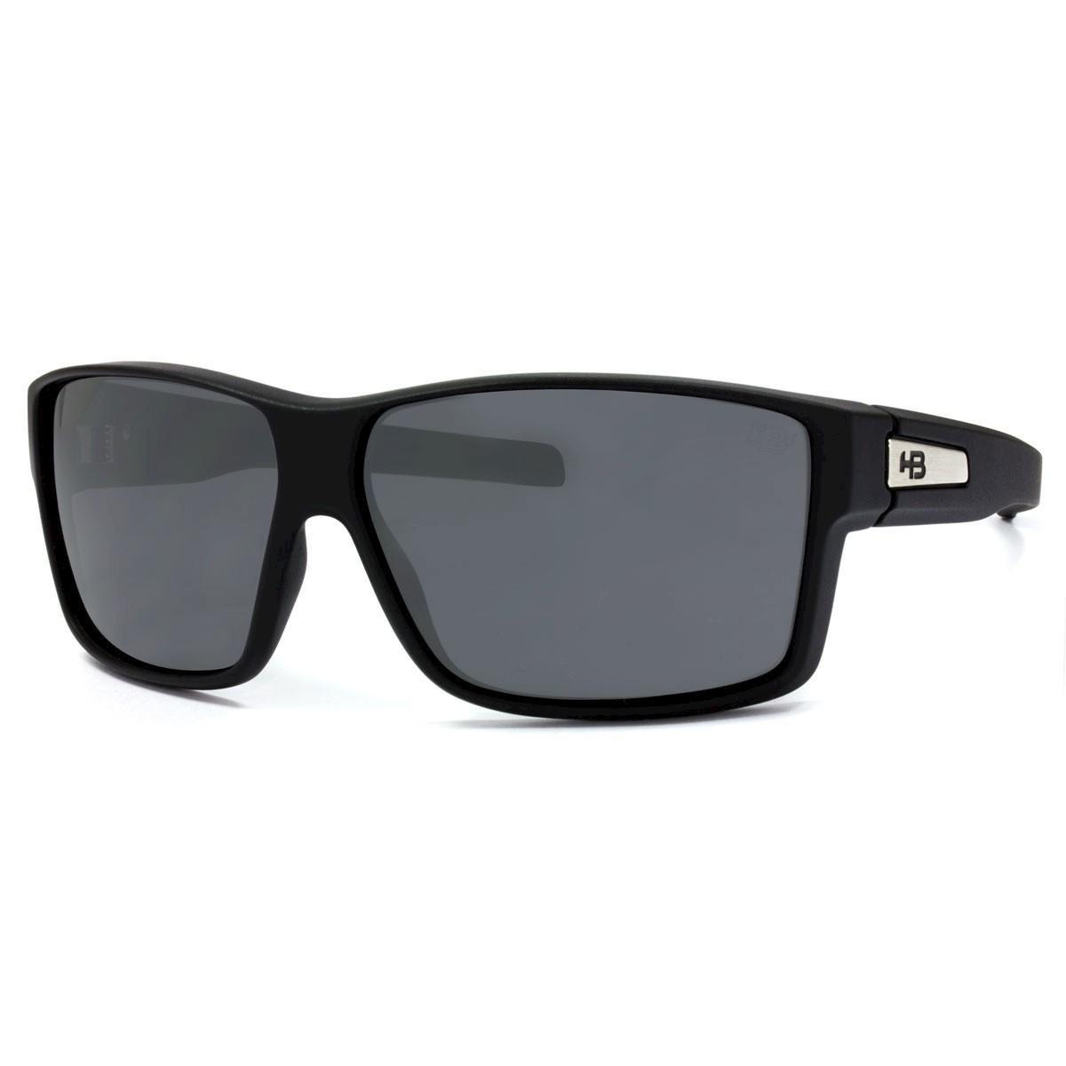 9948454a06679 Óculos de Sol HB Big Vert Matte Black Lenses Grey - Preto - Compre Agora