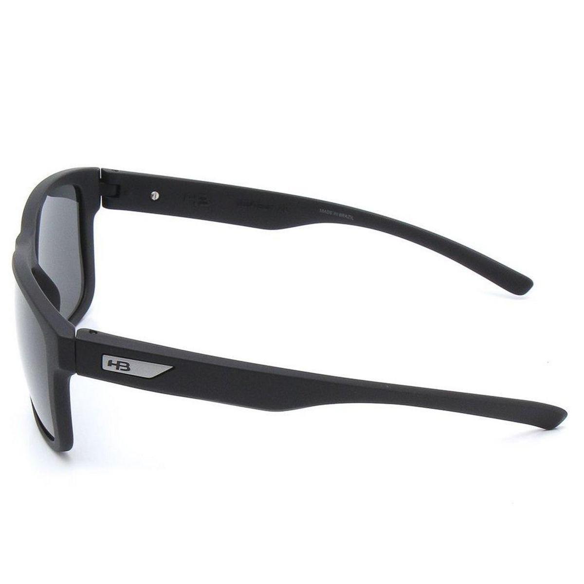 Óculos de Sol HB H-Bomb - Preto e Prata - Compre Agora   Netshoes f19f6507a1