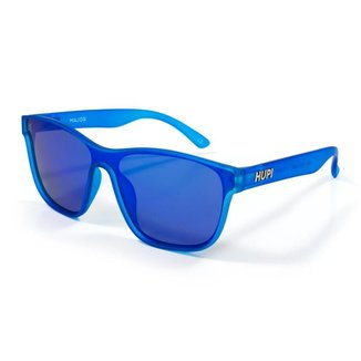 Óculos de Sol HUPI Major Azul Lente Azul Espelhado Polarizado