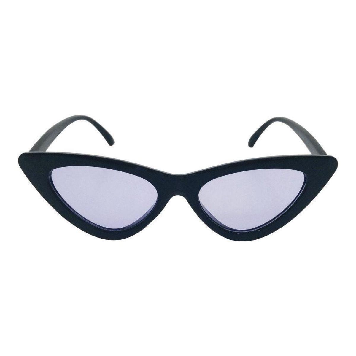 Óculos de Sol Khatto Bruninha Vintage Feminino - Preto - Compre ... b20b5058de