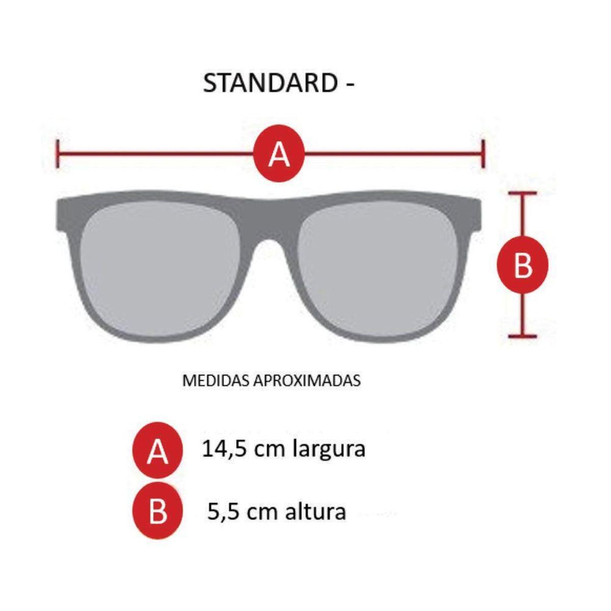 Óculos de Sol Khatto Fusion Round Masculino - Dourado e Preto ... 200f2a5f7e